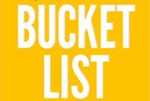 Summer Bucket List / Summer never seems long enough to squeeze in all we want to make and do. Here are our top must-dos before summer ends. Pin your own Summer Bucket List Board.