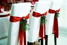 Christmas Decorating and Ideas / Decorating ideas for Christmas. Santa, Christmas tree, stockings, reindeer, holiday tables, Christmas spirit