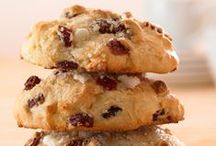 Scone Recipes / Scones aren't the dry, one-dimensional bakery item they once were. Adding dried fruit and sweet morsels bring new life to this traditional food. And using different methods, pull-apart, bite-sized and drop style are all options. No matter how you like them, there's a scone recipe here for every taste.
