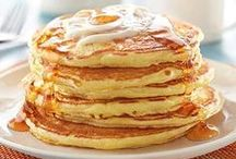 Pancakes / Classic buttermilk pancakes are just the beginning. You can jazz up breakfast (or dinner) with lemon, apples and cinnamon, bananas and chocolate, or even a fruit and sausage combination.