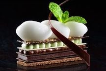 Contemporary pastry and desserts / Fancy modern pastry, entremets, and plated desserts