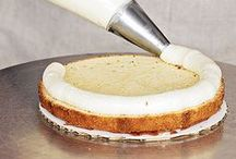 Cake Tutorials - Torting, filling and icing