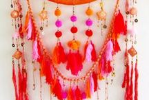 Mobiles macrame and Wall Hangings