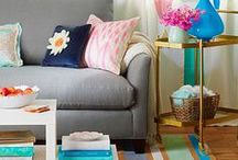 Living room - whimsy and lightness ideas / by Sara Benitez