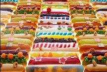 Pastry - Choux / Choux pastries; profiteroles, eclairs, cream puffs, chouquettes, croquembouche, religieuse, beignet, gougere
