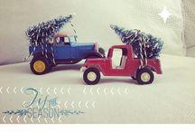 Trucks & trees