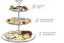 Afternoon tea / Recipes and tips for afternoon tea (and low tea, elevenses, cream tea, champagne/royal tea etc)