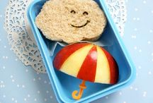 School and kinder lunch ideas / by Oishi-m