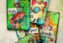 Artist trading cards / Mini art cards