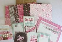paper crafting kits - DIY - mini albums / pre-made kits for sale at onecraftymess.com