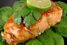 Fish and seafood / Recipes for fish and seafood dishes. Cod, salmon, telapia, trout,  mackarel, shrimp, mussels, lobster, squid, sea urchins etc