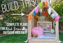 Outdoor decor/Ideas to build / by Brianna Bedell