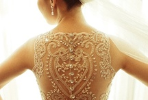 Dream Wedding Dresses / As an accessories designer, I get my inspiration from these dreamy wedding dresses that were lovingly made and crafted into perfection by very talented designers