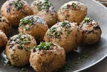 Best Potato Recipes / Mashed potatoes are pretty great, but there's also a place in our heart for those that come roasted or baked. Here are our favorite healthy recipes for both white and sweet potatoes.