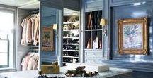 Closet Organization / Dream Closets, Closet Organization, Interior Design, Home Decor, Fashion Stylist's Home