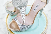 Dreamy Wedding Shoes / Have your Cinderella moment with these stunning shoes!