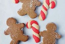 Christmas Cookies / Merry Christmas! These are probably more recipes for cookies than you'll know what to do with this holiday season.