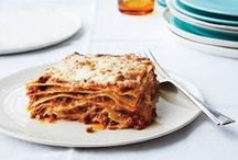Baked Pastas / From classic lasagna to a gooey updated mac and cheese with smoky bacon. / by epicurious