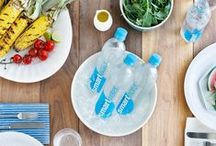 Summer Tricks and Tips Sponsored by smartwater® sparkling / On-the-go or planning a summer spread? These go-to tricks will keep your season sparkling.