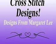 Cross Stitch Patterns - Designs From Margaret Lee / Cross Stitch designs using primarily cross stitch stitches by Designs From Margaret Lee!