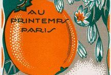 Orange Tuesdays / Orange became my favorite color when I started making art.