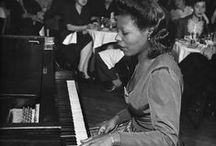 Jazz / Jazz brings us the present moment.  Partial to piano jazz, Nordic jazz, unsung jazz women.