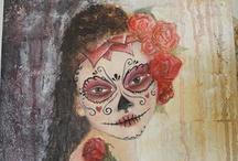 Halloween & Dia de los Muertos / All things Halloween and Day of the Dead /Dia de Los Muertos