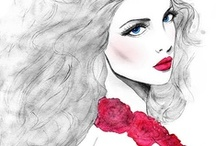 FASHION ILLUSTRATIONS / Fashion Illustrations / by Esther Bayer