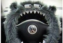 Crazy Car Accessories / Make your car unique and more functional with these Crazy Car Accessories.