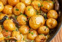 Kartoffel / Potato / Polenta / Quinoa / Vegetarian and vegan