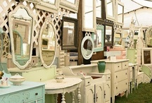 Flea Market / Painted furniture. Repurposed. DIY. Vintage. New life to old. Thrifting. Good finds.  / by Carie Bastron Wilbur