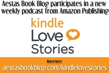 Kindle Love Stories PODCAST by Amazon Publishing / Aestas Book Blog is now a part of Amazon's Publishing's new series of romance book podcasts called Kindle Love Stories.