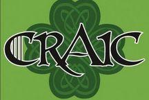 Irish. Everyday.   / I don't like to drink much lol. But I definitely kissed a Blarney Stone :)  / by Ann Hartman