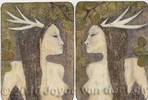 Antler and Horned Ones / All creatures with antlers and horns