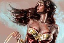 [ WONDER WOMAN ] / Wonder Woman, Queen of the amazones