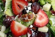 Splendid Salads and Salsas / nothing more refreshing than a salad!