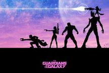 [ GUARDIANS OF THE GALAXY ] / #GOTG Guardians of the Galaxy (comics, fanart, movie, etc) My favourite Marvel movie so far