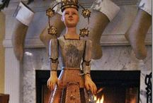 Santos Cage Dolls / Beautifully graceful antique dolls