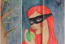 Tales - {Fairy and other} / illustrations and paintings inspired by fairy tales