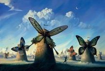 surrealism - pseudorealism / inspirations and studies into the surreal