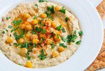 Saucy & Creamy / Hummus, Salsa, Pesto, Dips and Sauces all vegetarian or vegan