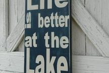 Lakehouse ideas / by Renee Groth