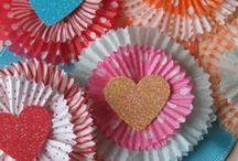 heart day yummies / Valentine's Schtuff