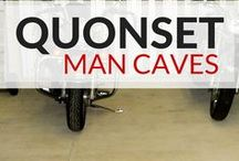 Man Cave Style / Ever wanted to build your own personal space? A #mancave is right for you! Check out some of the #steelbuilding options from SteelMaster! man cave ideas | man cave | man cave basement | man cave decor | man cave garage | Man Cave Day | Man Cave Kingdom | Man Cave Done Right | It's a Man's Cave | Man Cave Style | Man Cave Dreams