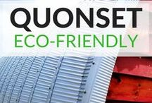 Eco-Friendly Quonsets / Save money and the planet! Our #ecofriendly buildings are sure to please.