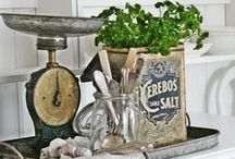 Cottage Style / A collection of cottage-style interior decor.