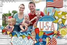patriotic scrapbooking / So many of these pages offer ideas for my own creations, I like to look at many before  actually creating my own. If you wish, you may view large boards; scrapbooking1, more scrapbooking 2 and even more scrapbooking 3. As well as individual scrapbooking boards categorized by baby, all boy, all girl, family, sports, pets, Christmas, beach, destination, heritage and Halloween.