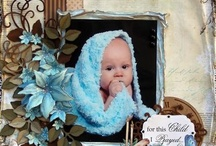 baby scrapbooking / So many of these offer ideas for my own creations, I like to look at many before creating my own.  If you wish, you may view large boards; scrapbooking1, more scrapbooking 2 and even more scrapbooking 3.  As well as individual scrapbooking boards categorized by baby, all boy, all girl, family, sports, pets, Christmas, beach, destination, heritage and Halloween.