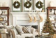 Christmas Decor / Ideas for decorating your house, inside and out, for Christmas.