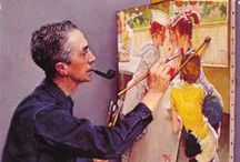 Norman Rockwell / Rockwell art / by Gary Ishmael